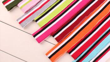 T恤衫罗纹领的具体生产流程